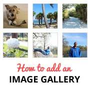 Galerii imagini in Wordpress
